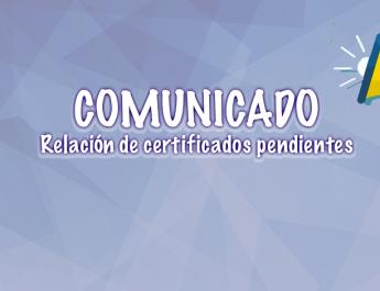 COMUNICADO: PRESENTARSE EN CONTROL ESCOLAR