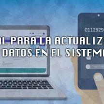 ACTUALIZACION DE DATOS PARA CREDENCIALES