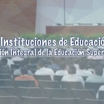 REUNION DE INSTITUCIONES DE EDUCACION SUPERIOR