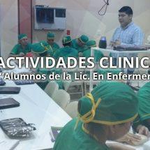 ACTIVIDADES DE CLINICAS