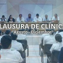 CLAUSURA DE CLINICAS