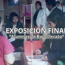 EXPOSICION BACHILLERATO
