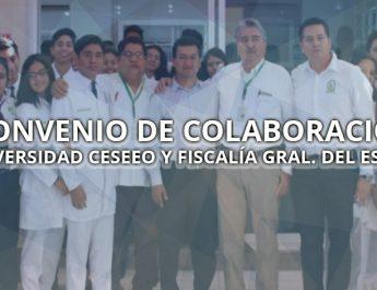 CONVENIO DE COLABORACION CON LA FISCALIA GENERAL