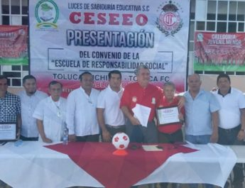 PRESENTACION DE LA ESCUELA DE RESPONSABILIDAD SOCIAL TOLUCA-JUCHITAN